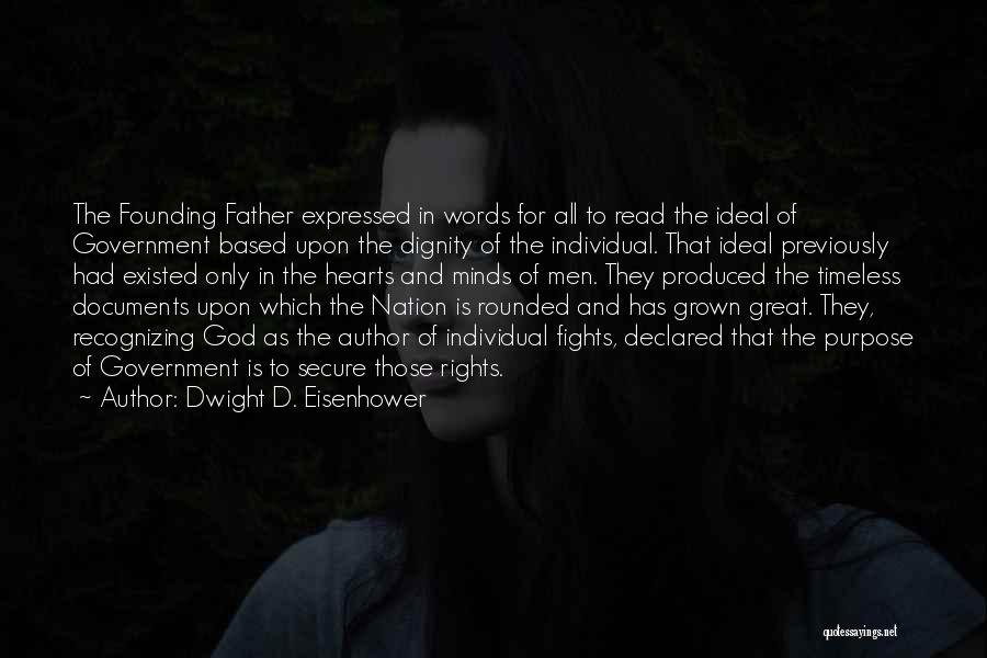 Based God Quotes By Dwight D. Eisenhower