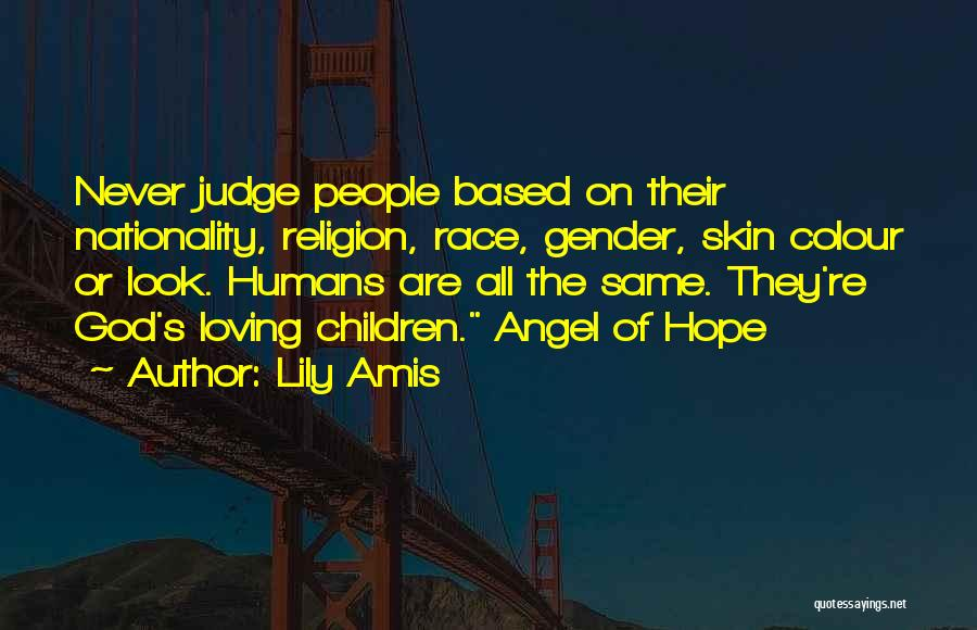 Based God Quotes By Lily Amis