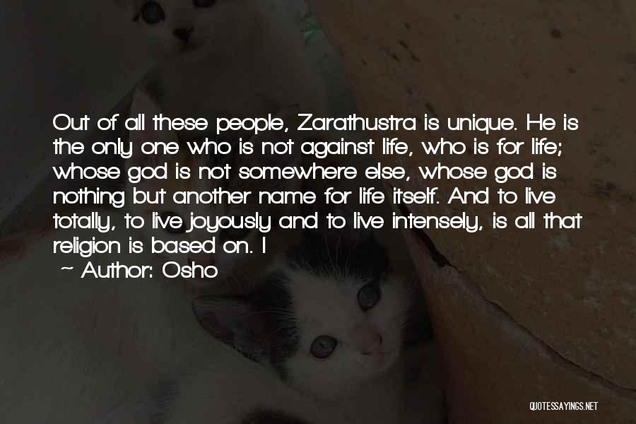 Based God Quotes By Osho