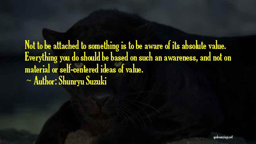 Based God Quotes By Shunryu Suzuki
