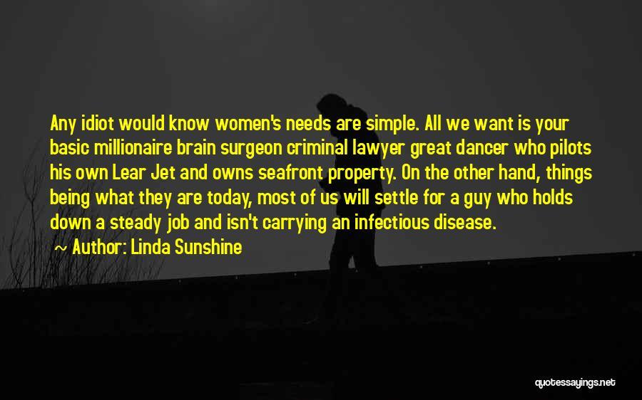 Basic Needs Quotes By Linda Sunshine