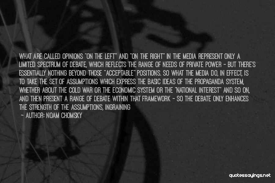 Basic Needs Quotes By Noam Chomsky