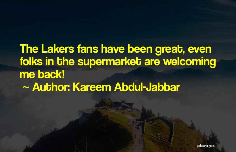Basketball Fans Quotes By Kareem Abdul-Jabbar