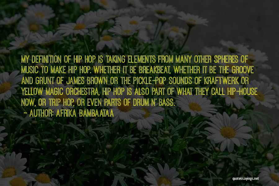 Bass Drum Quotes By Afrika Bambaataa
