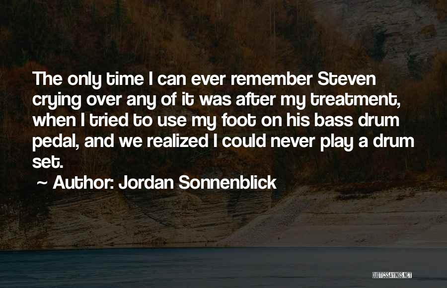 Bass Drum Quotes By Jordan Sonnenblick
