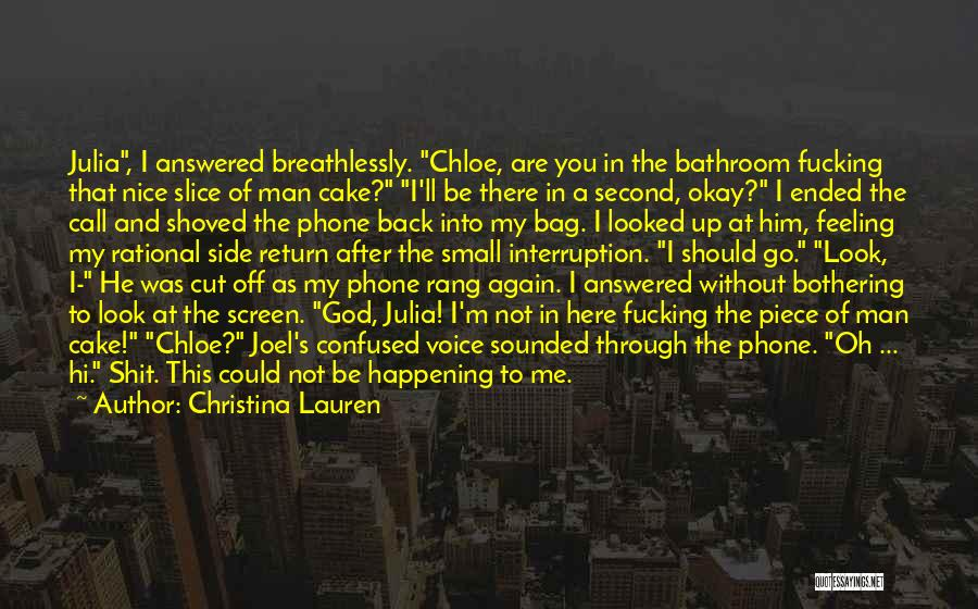 Bastard Man Quotes By Christina Lauren
