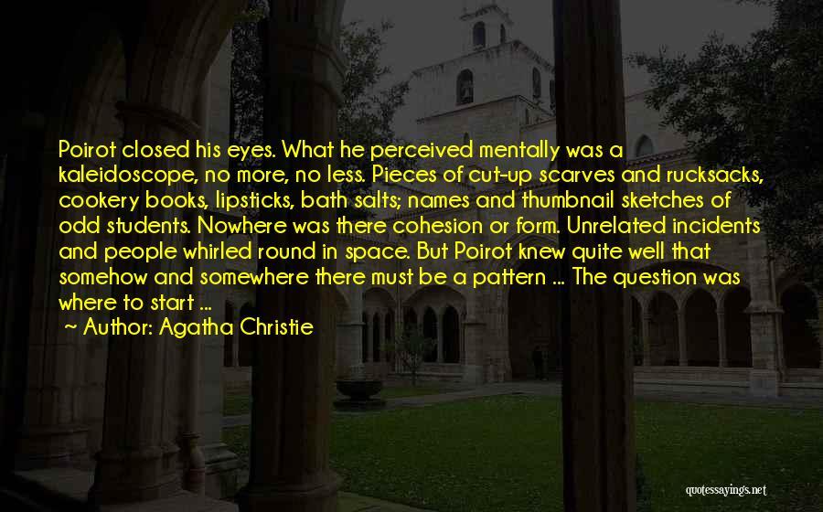 Bath Salts Quotes By Agatha Christie