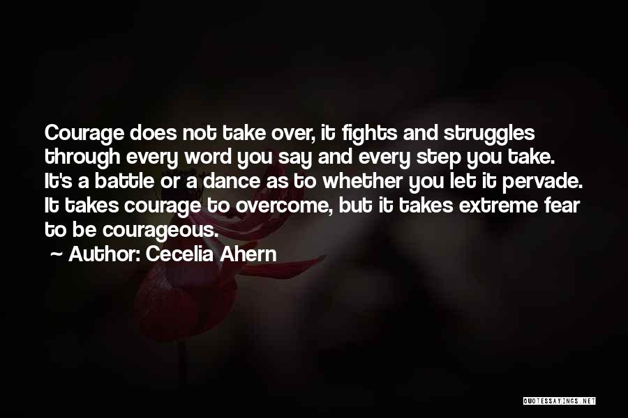 Battle Dance Quotes By Cecelia Ahern