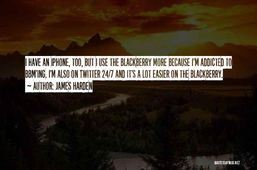 Bbm Off Quotes By James Harden