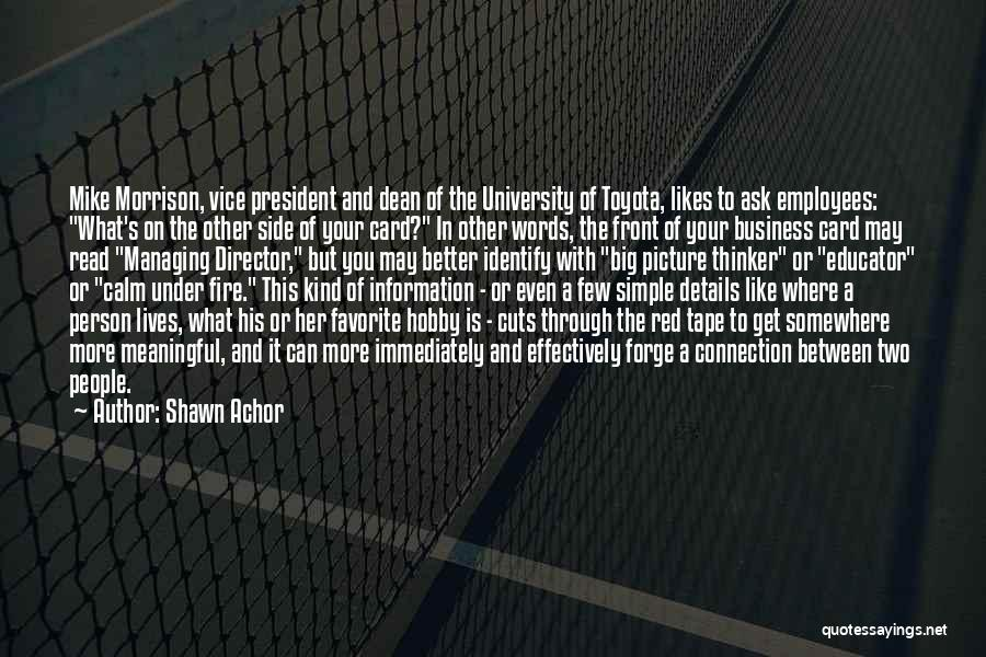 Be A Better Person Picture Quotes By Shawn Achor