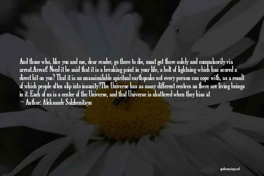 Be A Different Person Quotes By Aleksandr Solzhenitsyn