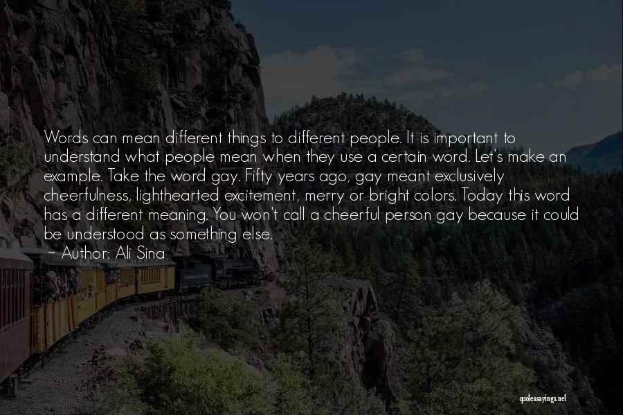 Be A Different Person Quotes By Ali Sina
