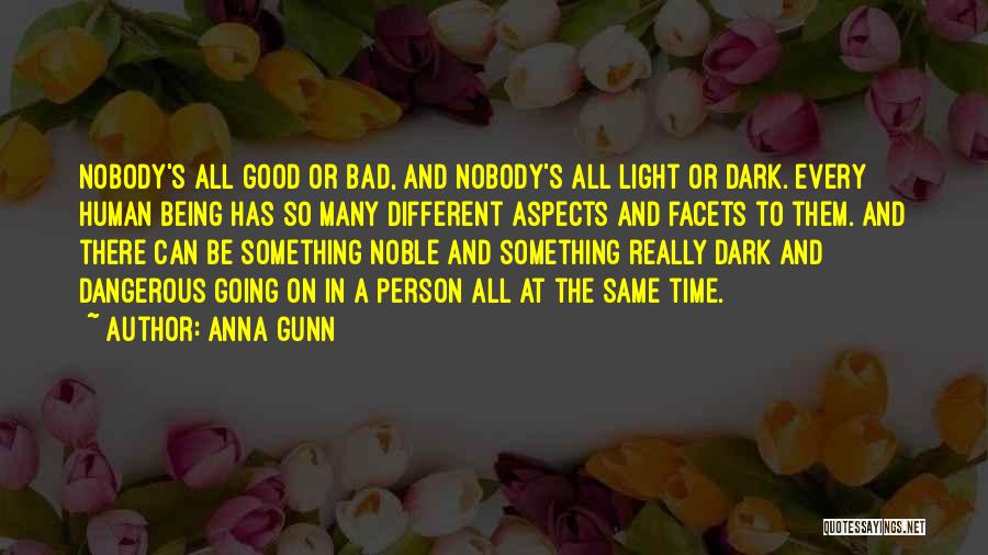 Be A Different Person Quotes By Anna Gunn