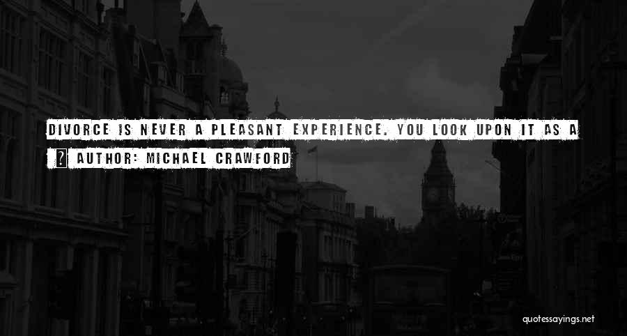 Be A Different Person Quotes By Michael Crawford
