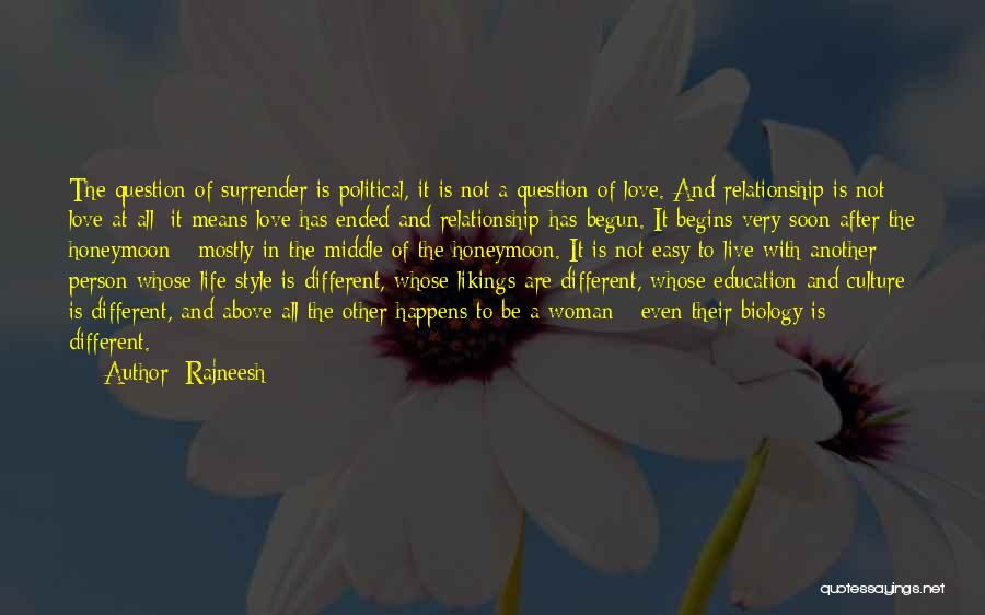 Be A Different Person Quotes By Rajneesh