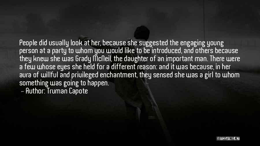 Be A Different Person Quotes By Truman Capote