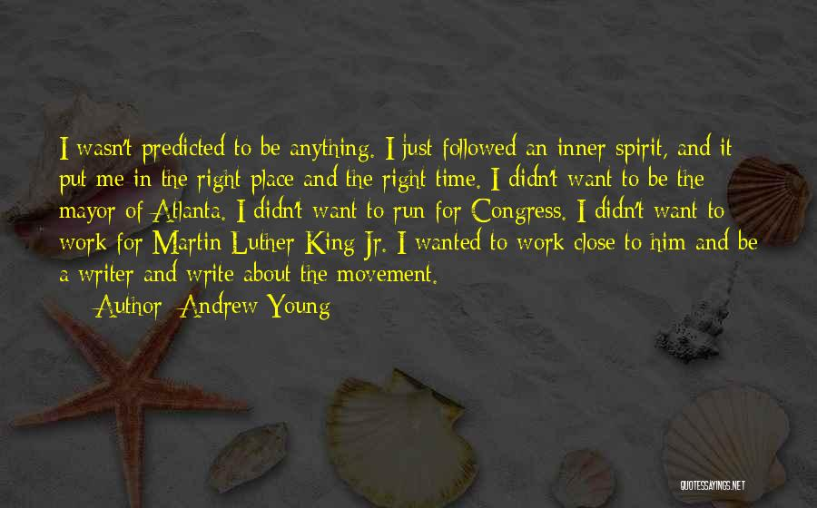 Be A King Quotes By Andrew Young