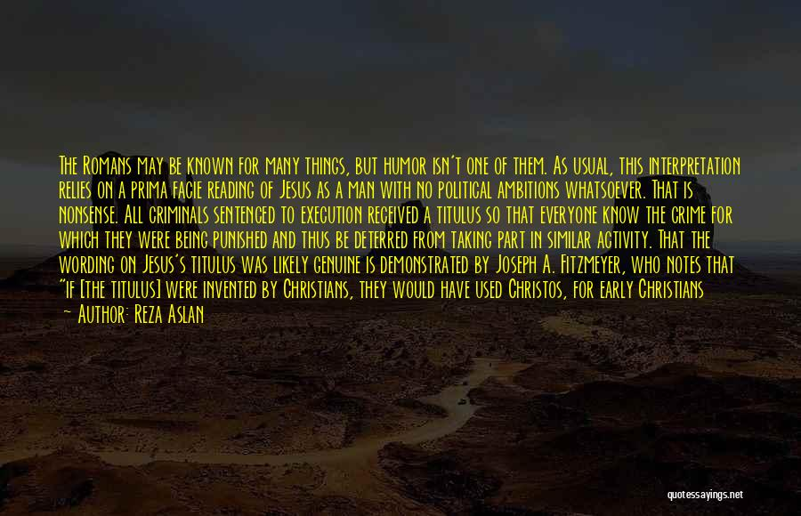 Be A King Quotes By Reza Aslan