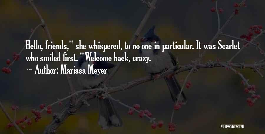 Be Crazy With Friends Quotes By Marissa Meyer