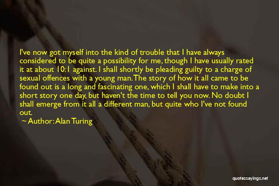 Be Different Short Quotes By Alan Turing