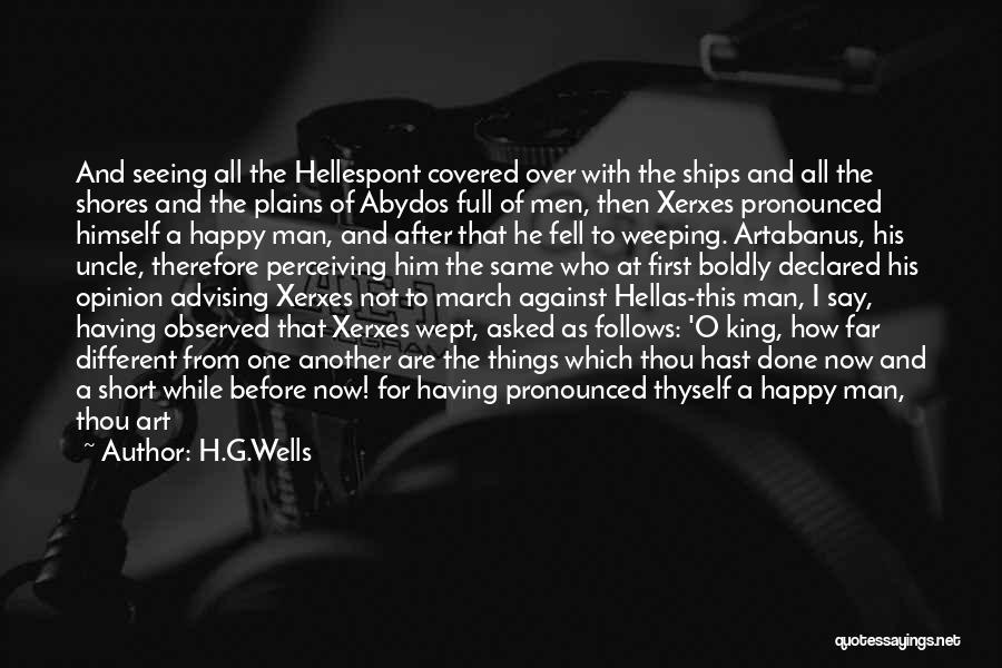 Be Different Short Quotes By H.G.Wells