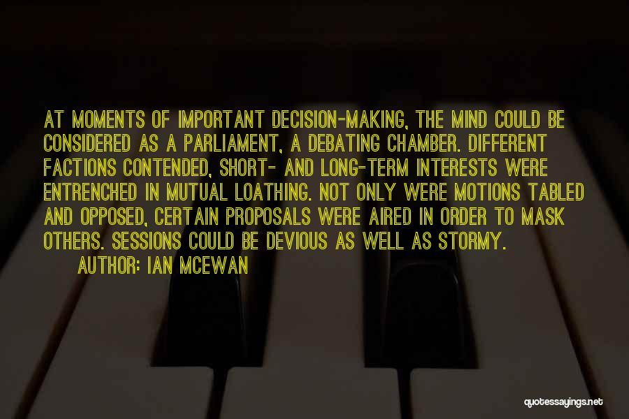 Be Different Short Quotes By Ian McEwan