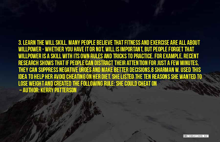 Be Different Short Quotes By Kerry Patterson