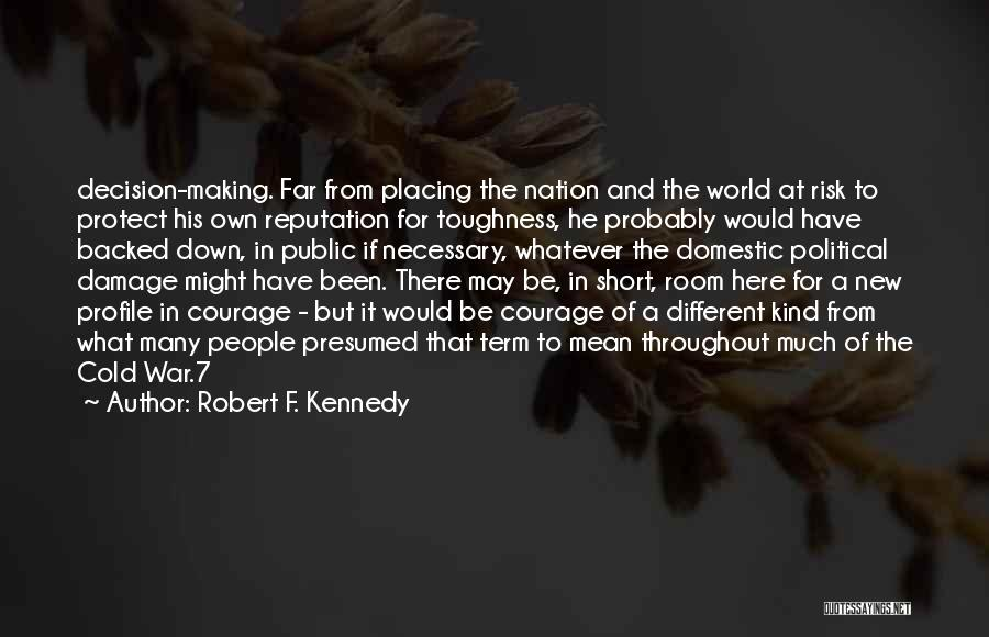 Be Different Short Quotes By Robert F. Kennedy