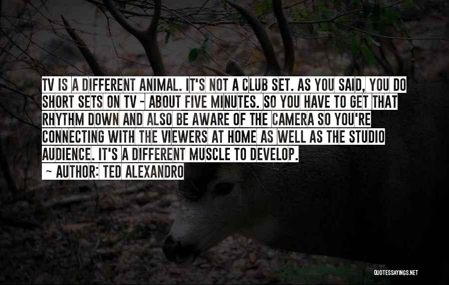 Be Different Short Quotes By Ted Alexandro