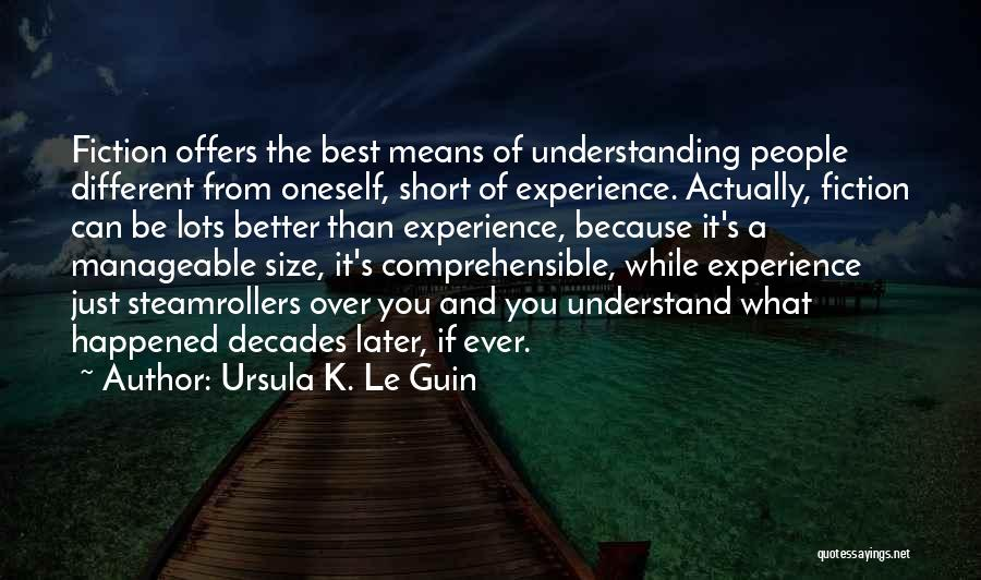 Be Different Short Quotes By Ursula K. Le Guin