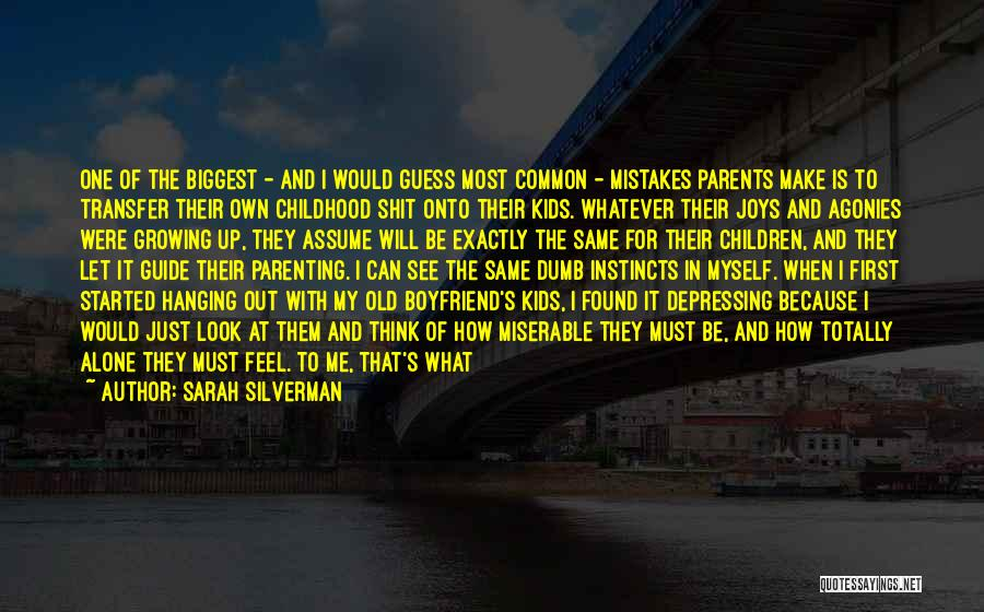 Be Happy Alone Quotes By Sarah Silverman