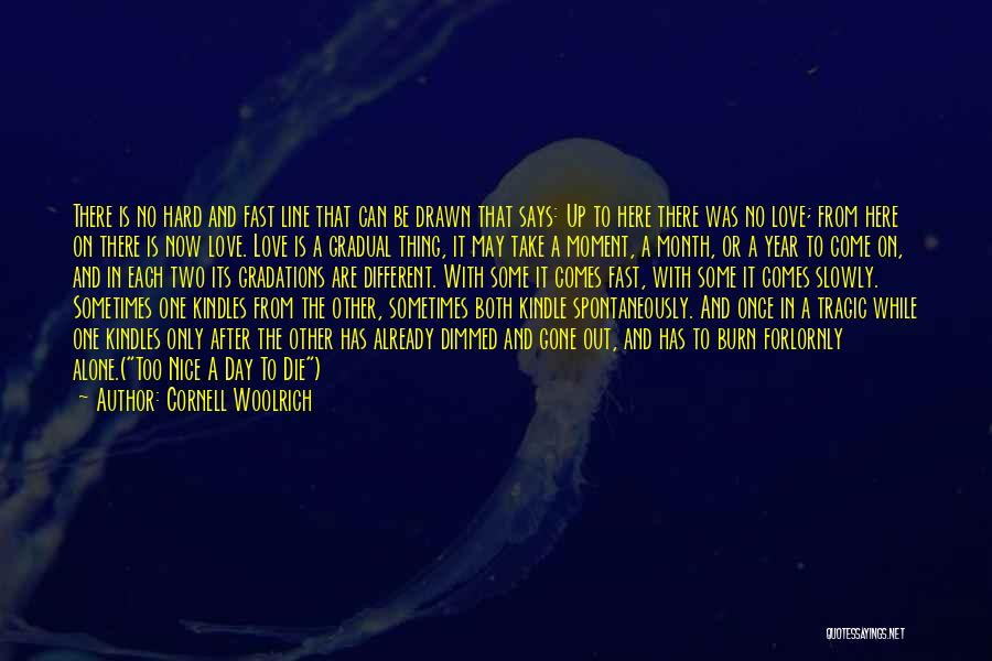 Be Nice To Each Other Quotes By Cornell Woolrich