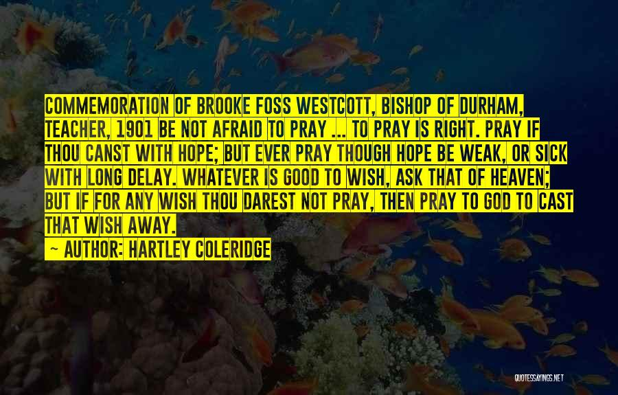Be Not Afraid Quotes By Hartley Coleridge