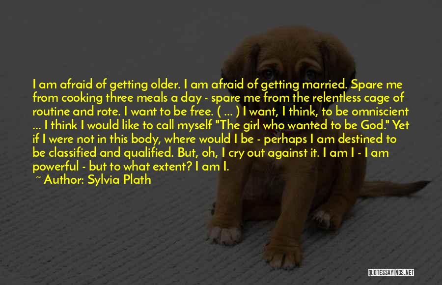 Be Not Afraid Quotes By Sylvia Plath