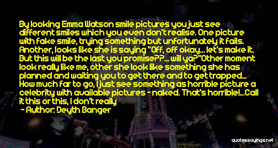 Be You Picture Quotes By Deyth Banger