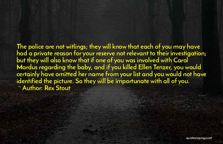 Be You Picture Quotes By Rex Stout