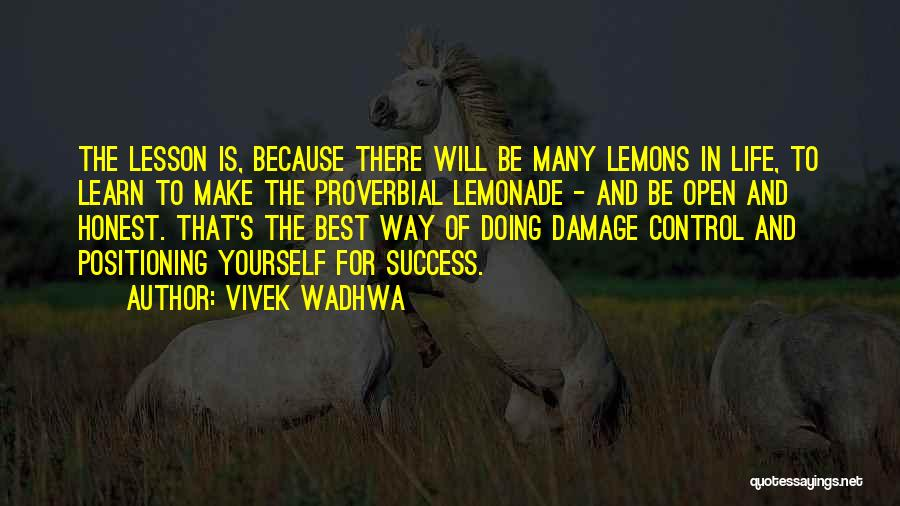 Be Yourself In Life Quotes By Vivek Wadhwa