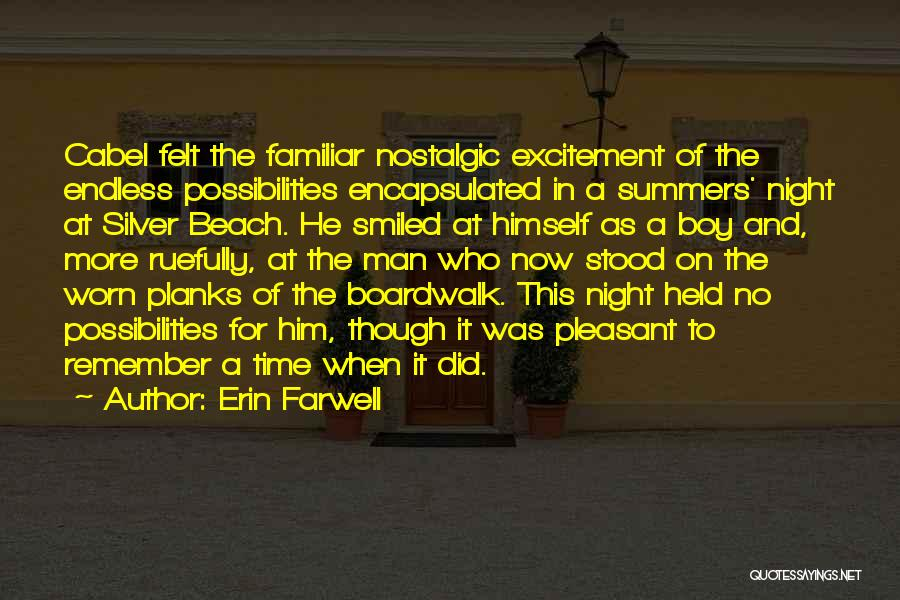 Beach And Summer Quotes By Erin Farwell