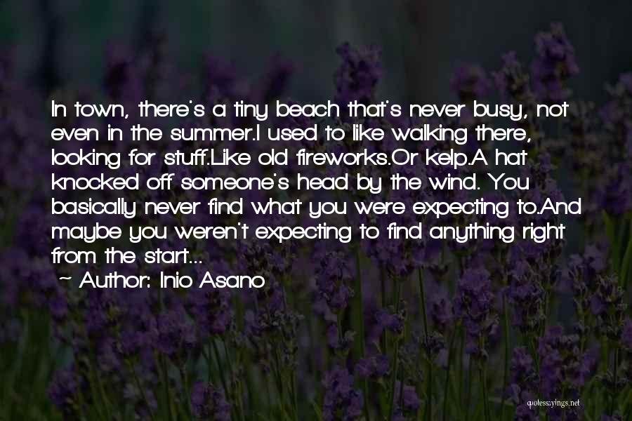 Beach And Summer Quotes By Inio Asano