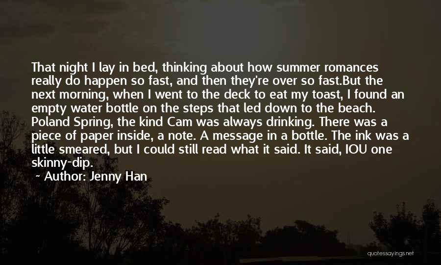 Beach And Summer Quotes By Jenny Han
