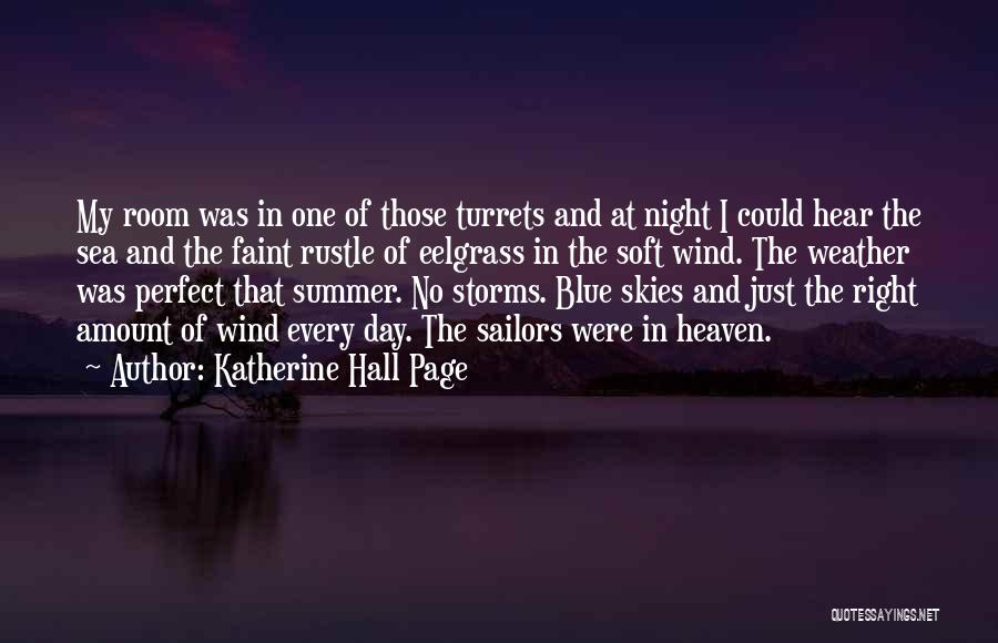 Beach And Summer Quotes By Katherine Hall Page