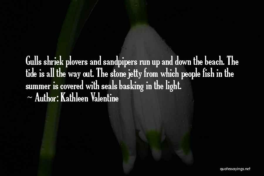 Beach And Summer Quotes By Kathleen Valentine