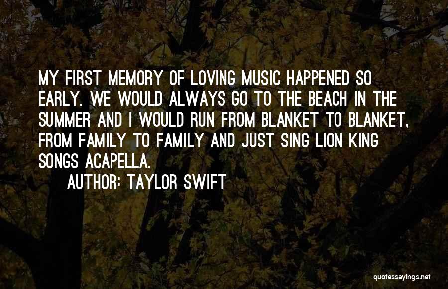 Beach And Summer Quotes By Taylor Swift