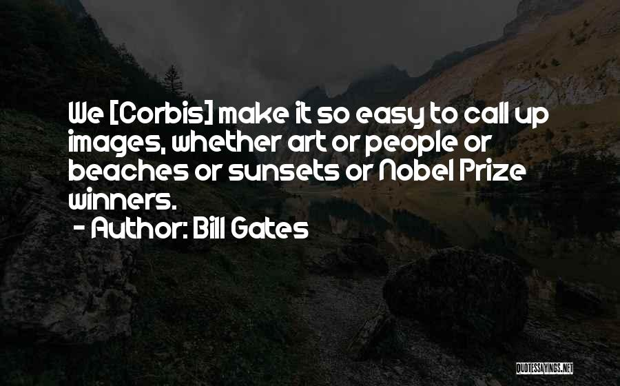 Beach And Sunset Quotes By Bill Gates