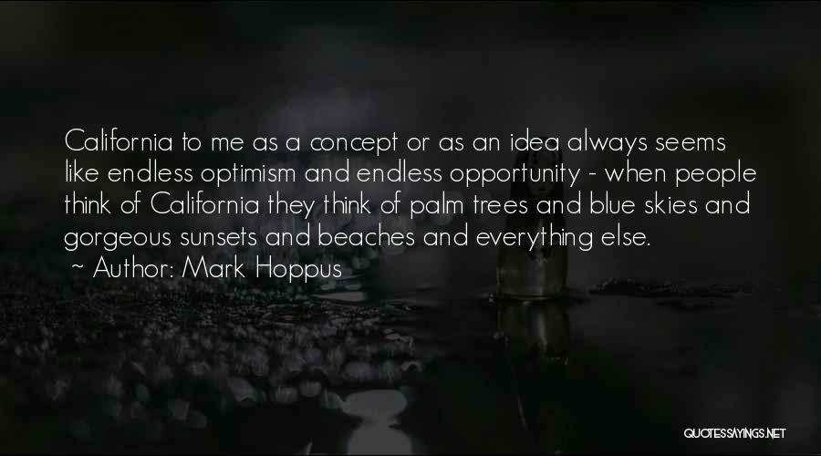Beach And Sunset Quotes By Mark Hoppus