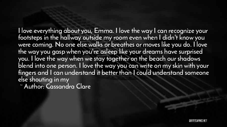 Beach Footsteps Quotes By Cassandra Clare