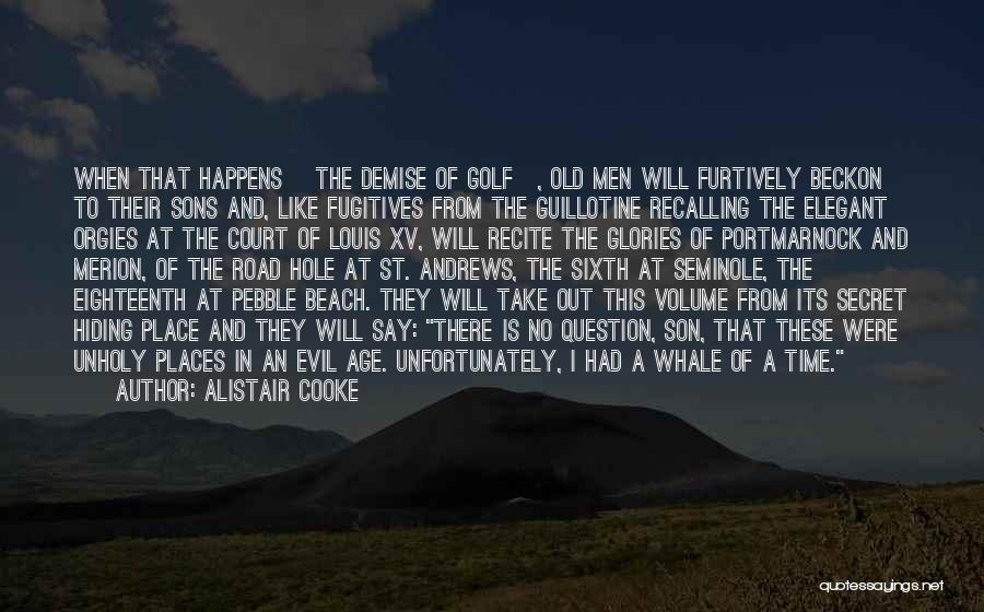 Beach Pebble Quotes By Alistair Cooke