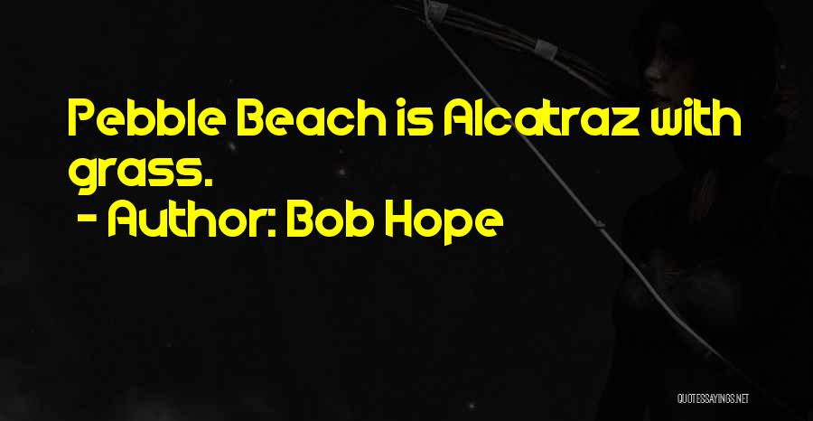 Beach Pebble Quotes By Bob Hope