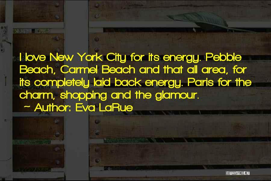 Beach Pebble Quotes By Eva LaRue