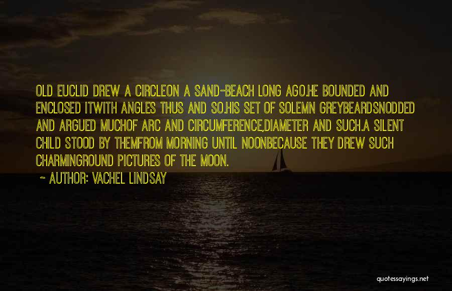 Beach Pictures And Quotes By Vachel Lindsay